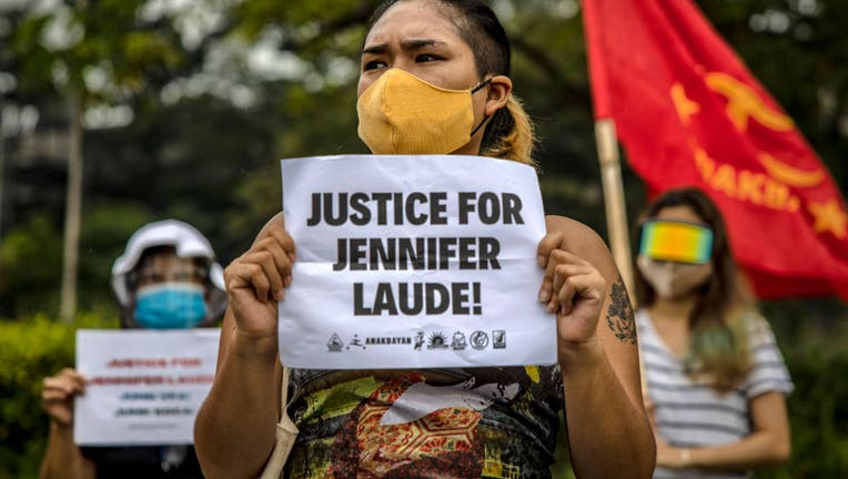 People Rally In Manila After Philippines Pardons US Marine Convicted Of Murder