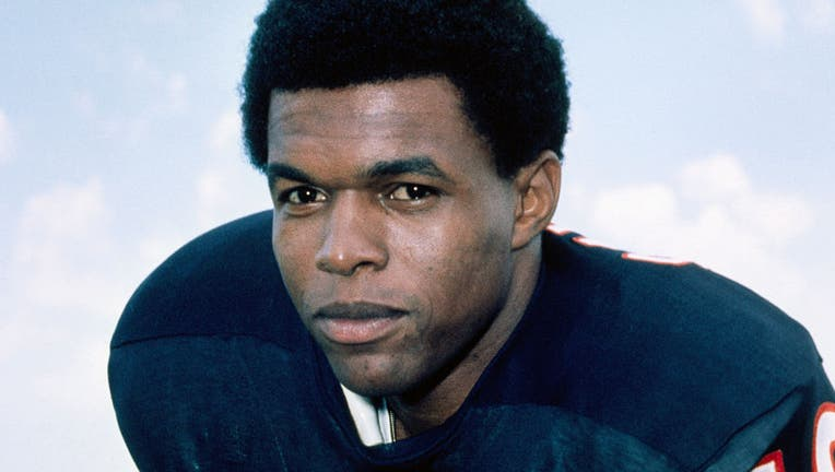 Gale Sayers in Football Uniform