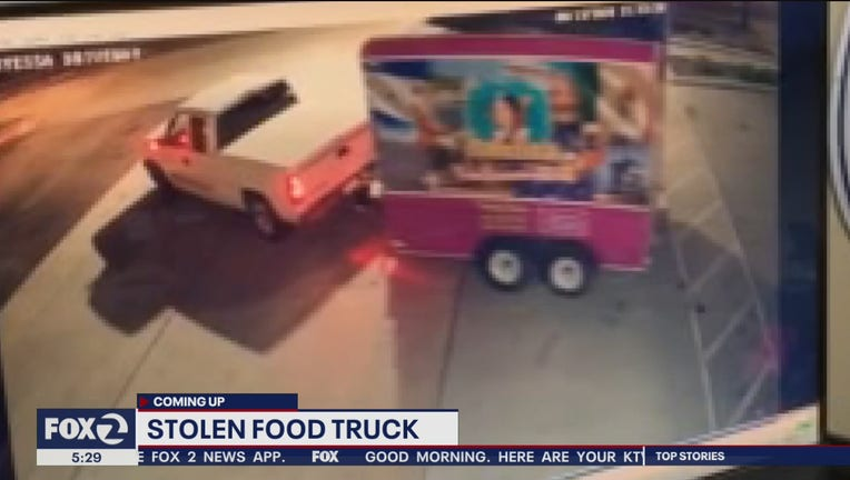 Stolen San Jose food truck found, but owners say it is inoperable