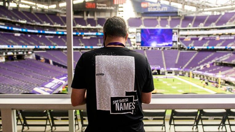 Minnesota Vikings social justice