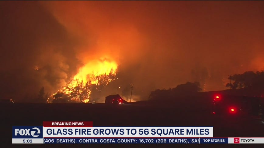 'It doesn't get any easier:' 70,000 under Glass Fire evacuation orders