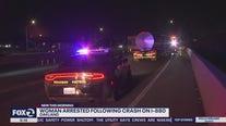 CHP arrest woman on suspicion of DUI; find gun in car
