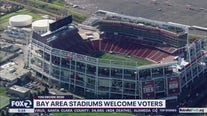 Bay Area sports stadiums open for in-person early voting