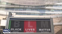 City of San Jose shows solidarity with 'Black Lives Matter' banners