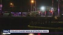 Police chase man in stolen U-Haul