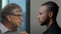 Stephen Curry interviews Bill Gates in launch of new 'State of Inspiration' video series