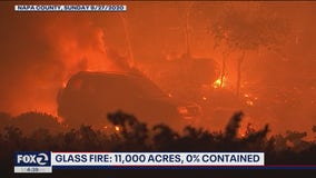 Disaster expert explains firefighting from air at night during the Glass Fire; new tools