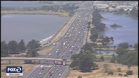 Bay Area traffic commutes still well below pre-pandemic days