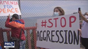 Demonstration on Golden Gate Bridge draws attention to Armenian-Azerbaijani conflict