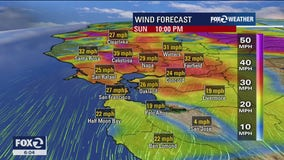Powerful wind event expected to produce dangerous conditions in the Bay Area