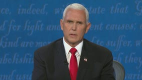 Fly lands on Mike Pence's head during Vice Presidential Debate