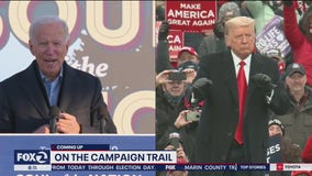 Biden, Trump hold campaign events in last weekend before Election Day