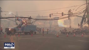 PG&E finds 130 damage sites from windstorm, reenergization continues