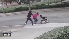 Chilling video shows daytime robbery of woman pushing stroller in Sunnyvale