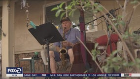 Livermore Veteran has played music on his front porch for over 150 straight days