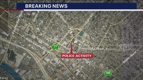 Armed barricaded suspect in Oakland