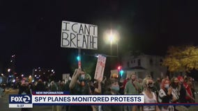 Military spy plane focused on home of California National Guard head instead of protests