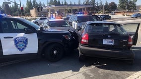 Antioch police arrest 13-year-old driving stolen car from Oakland carjacking