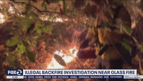 Cal Fire investigating whether citizens setting illegal backfires; Glass Fire 54% contained