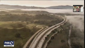 Express lane opens on northbound I-680 in Sunol area