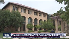 Stanford removing name of controversial founding president