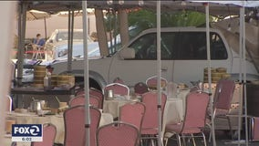 Eight injured in when elderly driver crashes into San Jose outdoor dining area