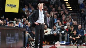 Warriors coach Kerr votes, then works Chase Center drop spot