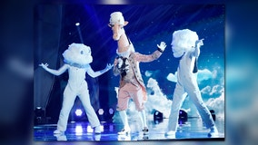 Giraffe stumps 'The Masked Singer' panelists, even though one is his neighbor