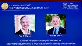 2 Americans awarded Nobel Prize in economics