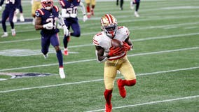 49ers crush Patriots 33-6
