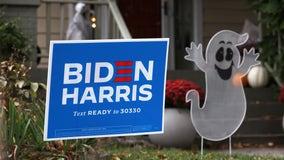 Police: Florida man stole bulldozer, ran down Biden campaign signs