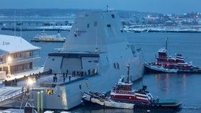 U.S. Navy Destroyer heads to San Francisco Bay for Fleet Week