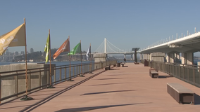 New shoreline park opens at eastern touchdown of Bay Bridge