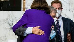 Barrett hearing: Calls for Feinstein to stand down after hug with Graham