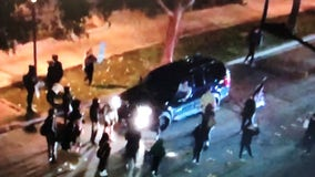 Protester arrested after allegedly tormenting people in SUV