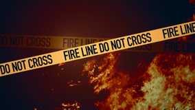 Fire crews battle grass fire in Richmond
