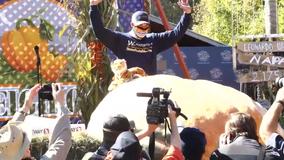2,350 pound pumpkin wins annual weigh-off contest in Half Moon Bay