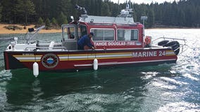 Woman falls into Lake Tahoe, drowns; 6 kids on boat rescued