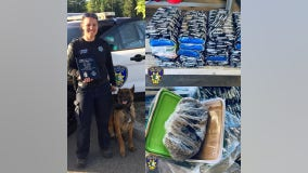 Vallejo police K9 helps seizure of estimated $1M of heroin