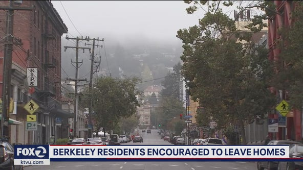 City of Berkeley warns residents of wildfire danger from high winds forecasted for Sunday