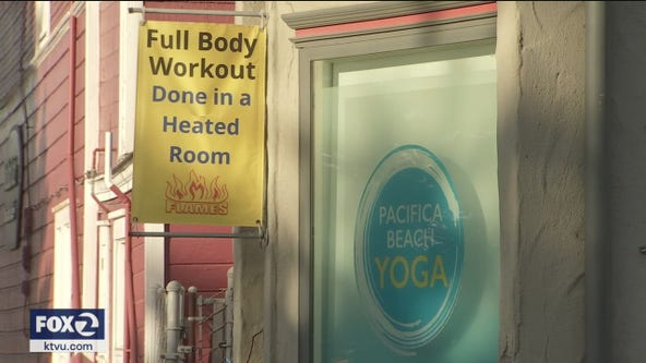 Warning issued to Pacifica yoga studio for mask violation