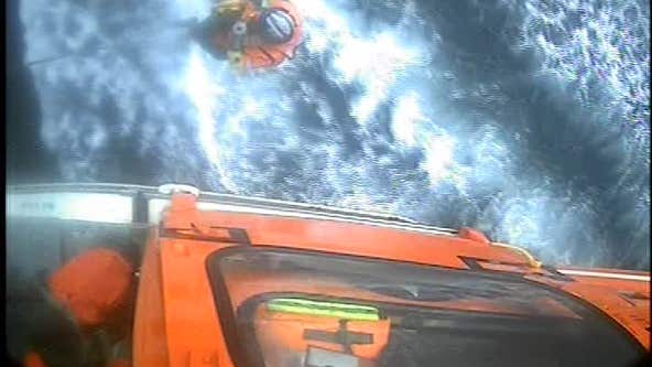 Man rescued from fishing boat off San Francisco shore after displaying heart attack symptoms