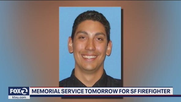 Memorial set for Monday for San Francisco firefighter who died in training accident
