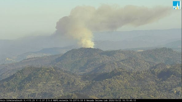 Crews working to contain Pope Fire in Napa County