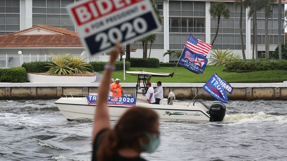Boat parades, road rallies buoy Trump and his supporters