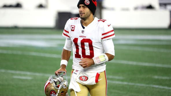 Jimmy Garoppolo's future remains questionable for 49ers