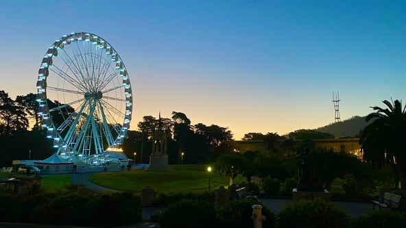 At long last, 150-foot Ferris wheel ready for a spin at Golden Gate Park