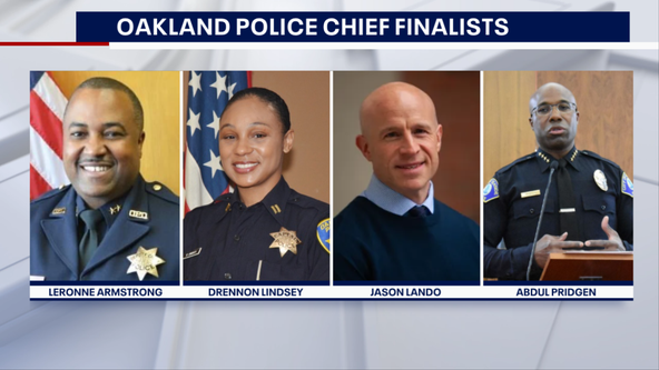 Oakland Police Commission announces four finalists in search for new chief
