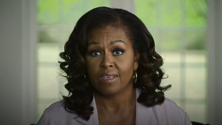 michelle obama joe biden video