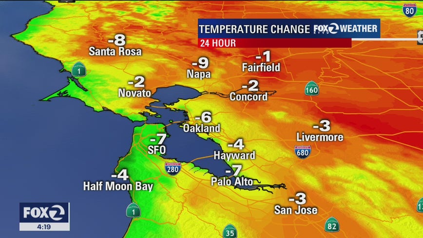 Weather forecast: Dry winds on tap for parts of the Bay Area